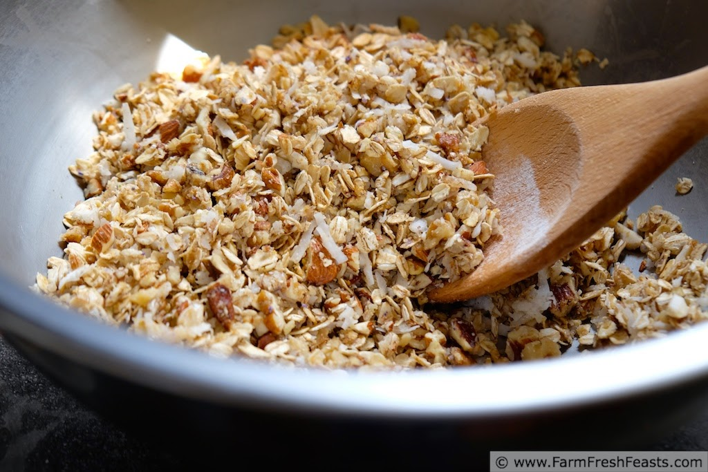 Wild Violet Granola | Farm Fresh Feasts