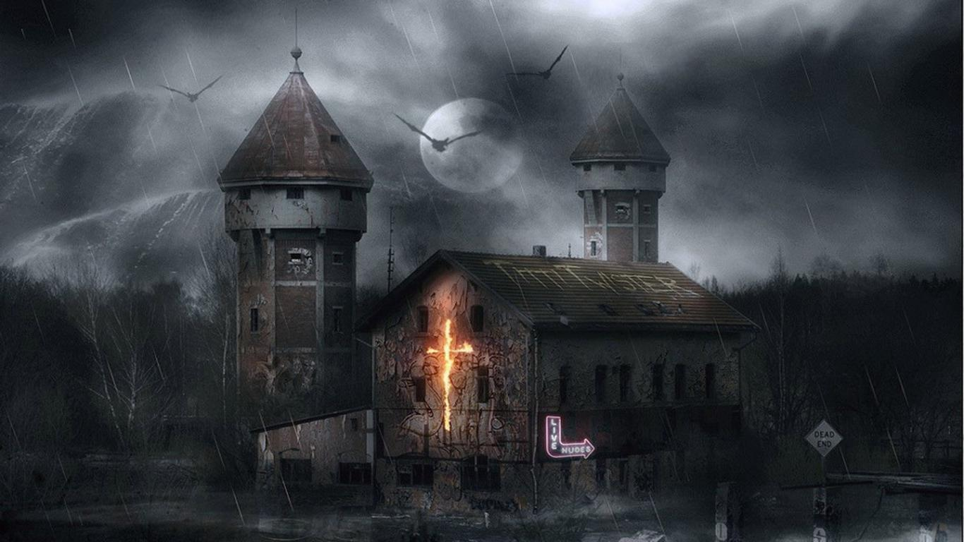 Best Wallpaper High Quality Horror - Haunted-House-in-Thunderstorm-Day  Snapshot_5925100.jpg
