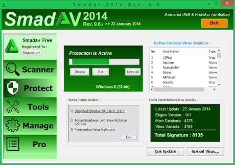 Download Smadav Terbaru Antivirus Gratis Terbaik Smadav 2014