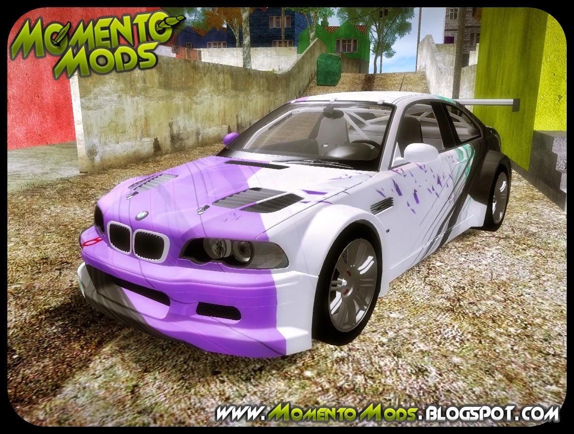 GTA SA - BMW M3 E46 GTR