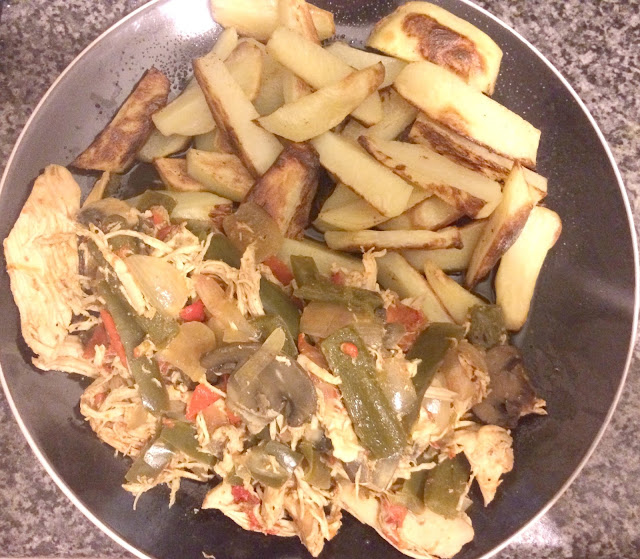 Slimming world fajitas