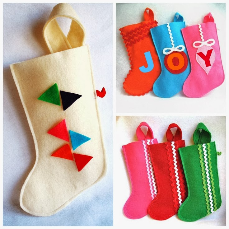Dirtbin Designs Cute Christmas Stockings