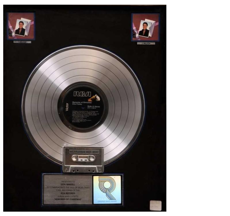 Discos Para El Recuerdo 193 Lbunes Premiados Con El Quot Disco
