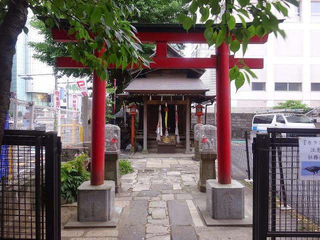 雷電稲荷神社,新宿〈著作権フリー無料画像〉