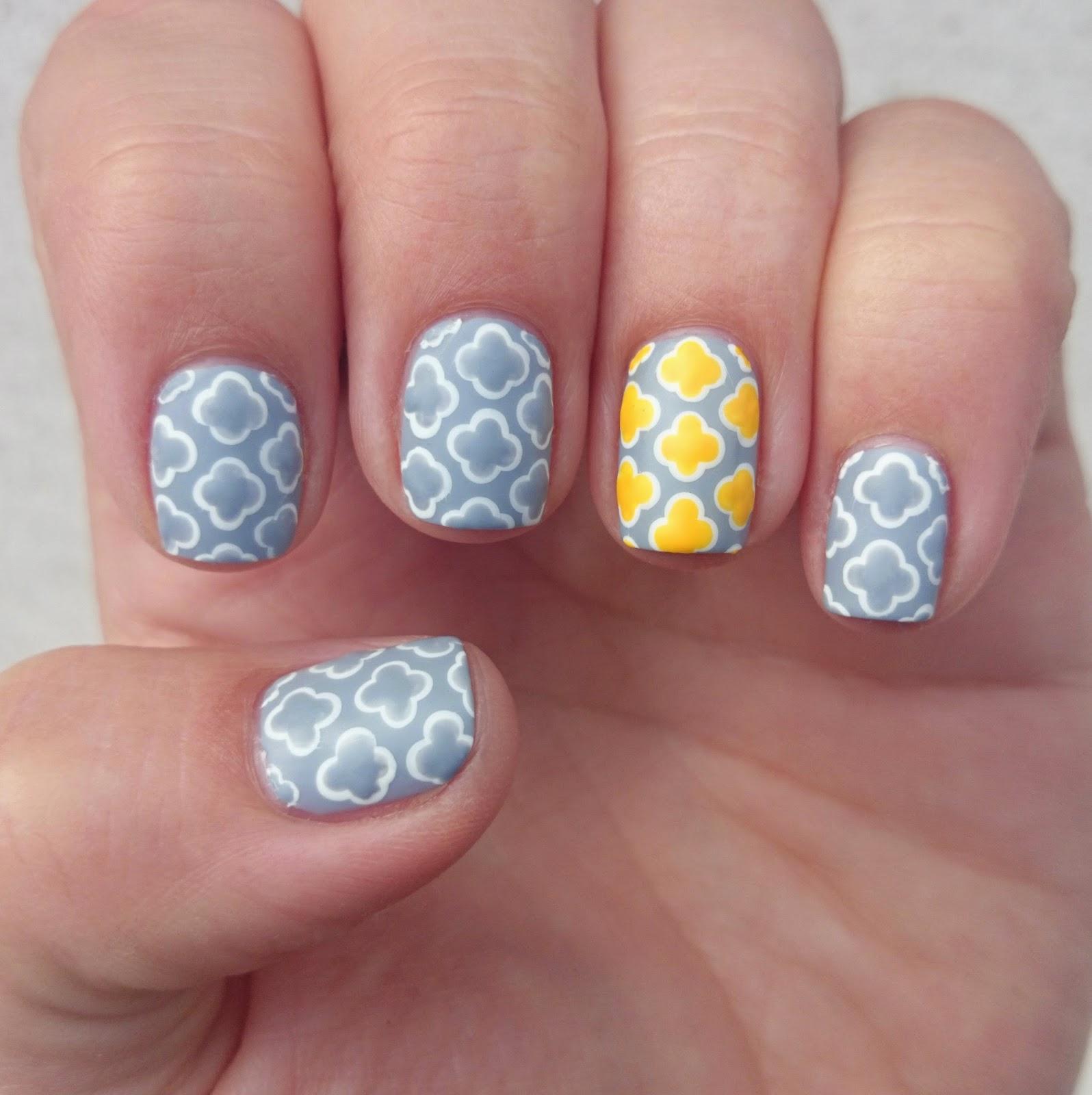 Dahlia Nails Ravenclaw Nail Art: Dahlia Nails: Wallpaper Nails