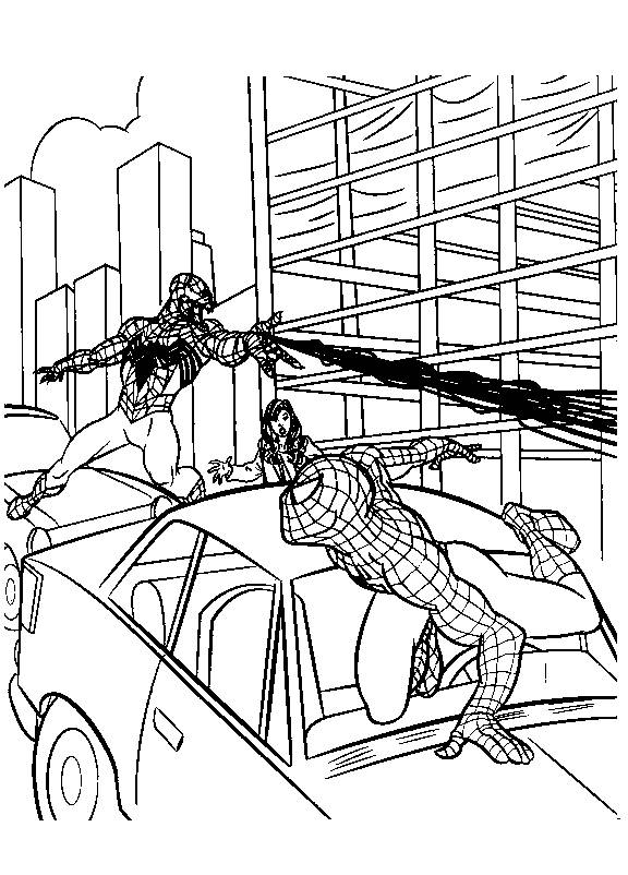 The Amazing Spider Man Coloring