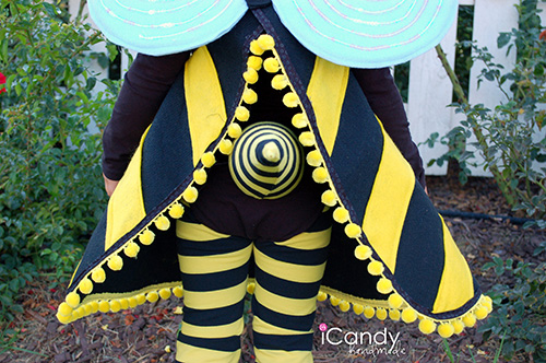 Bumble bee costume icandy handmade lets get started solutioingenieria Choice Image