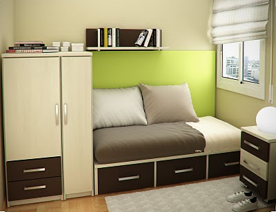 Simple and Minimalist Teen Bedroom Design by Sergi Mengot 6