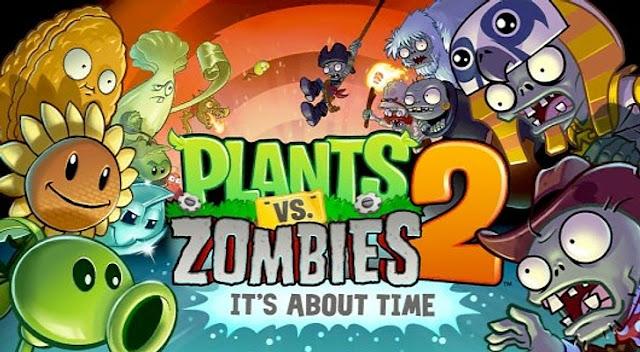 Plants vs. Zombies™ 2 v3.8.1 Apk + Datos SD [Mod]