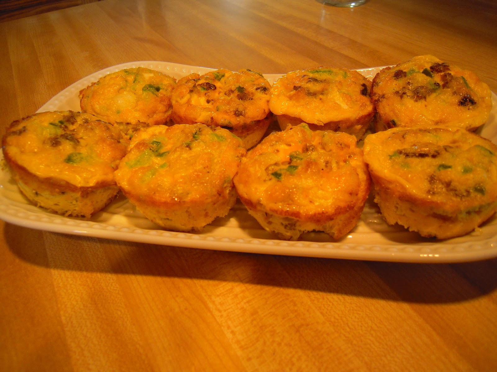 Food to Eat and Fill Your Soul: Scrambled Egg Muffins