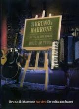 DVD Bruno e Marrone De Volta aos Bares