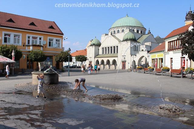Štúrovo náměstí // main square in Trencin