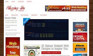 Blogging Go WordPress Theme