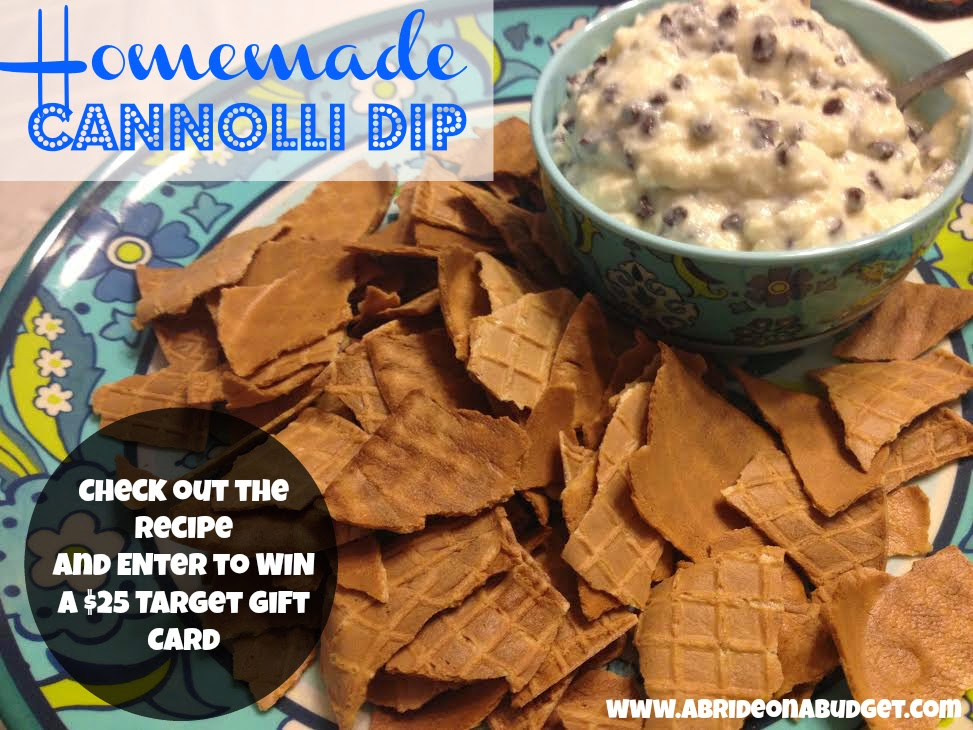 cannolli dip recipe