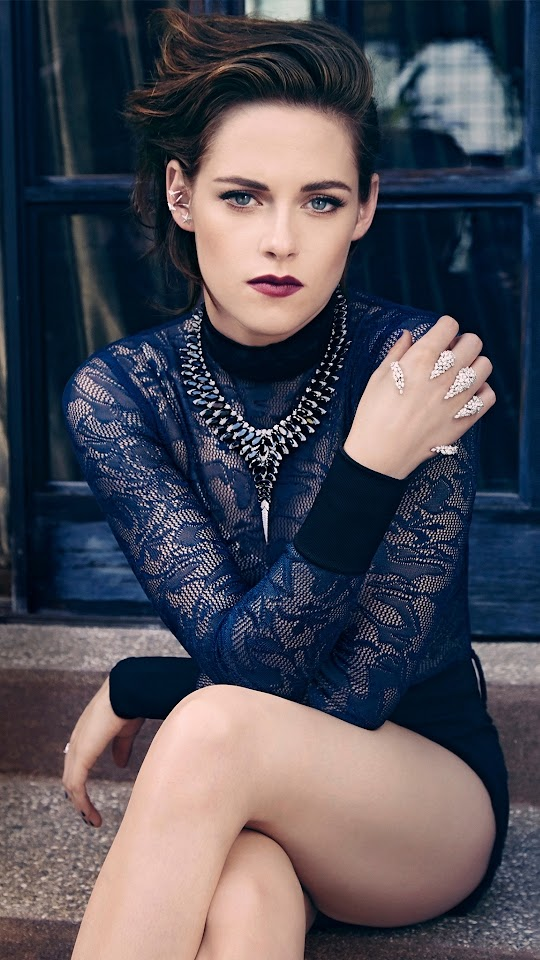 Kristen Stewart Marie Claire 2015 Galaxy Note HD Wallpaper