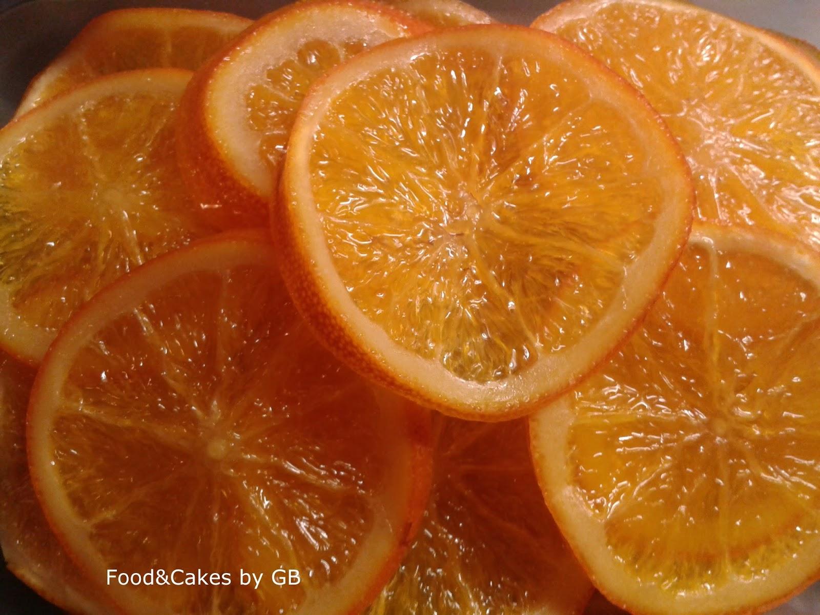 Naranjas confitadas (Para el roscón de reyes, bizcochos, turrones...)