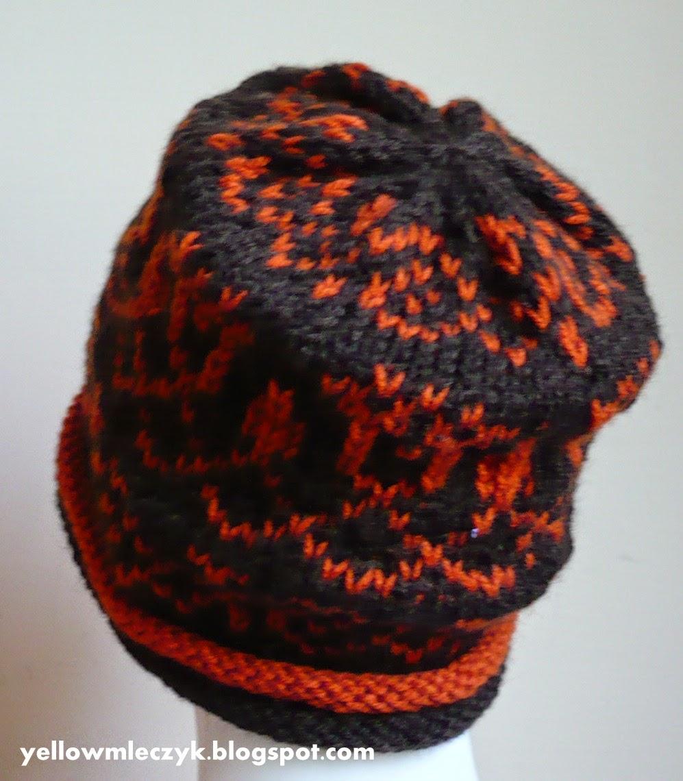 stranded knitting hat