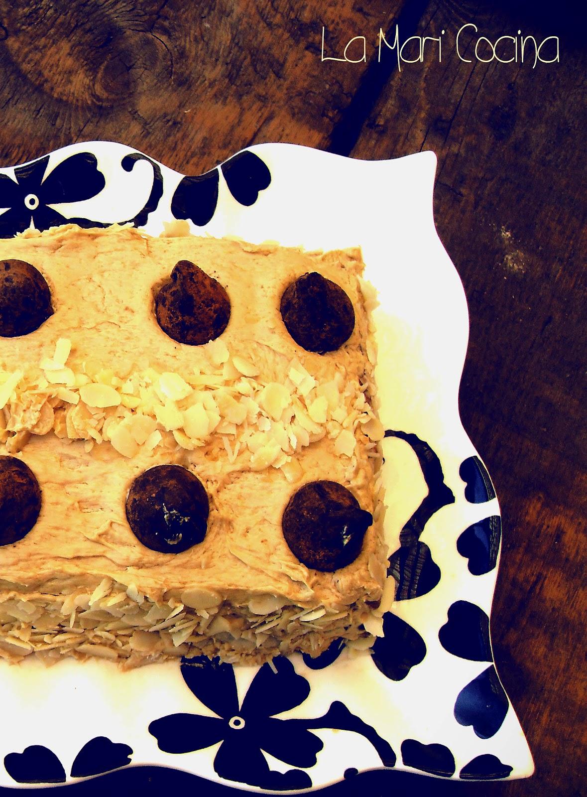 La Mari Cocina: Tarta Crema de Café para el verano