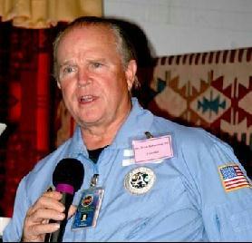 Ken Johnston en los días más felices en JPL