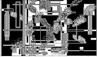 pixel art, macpaint, old school, B/W, computer art, UNTITLED 5