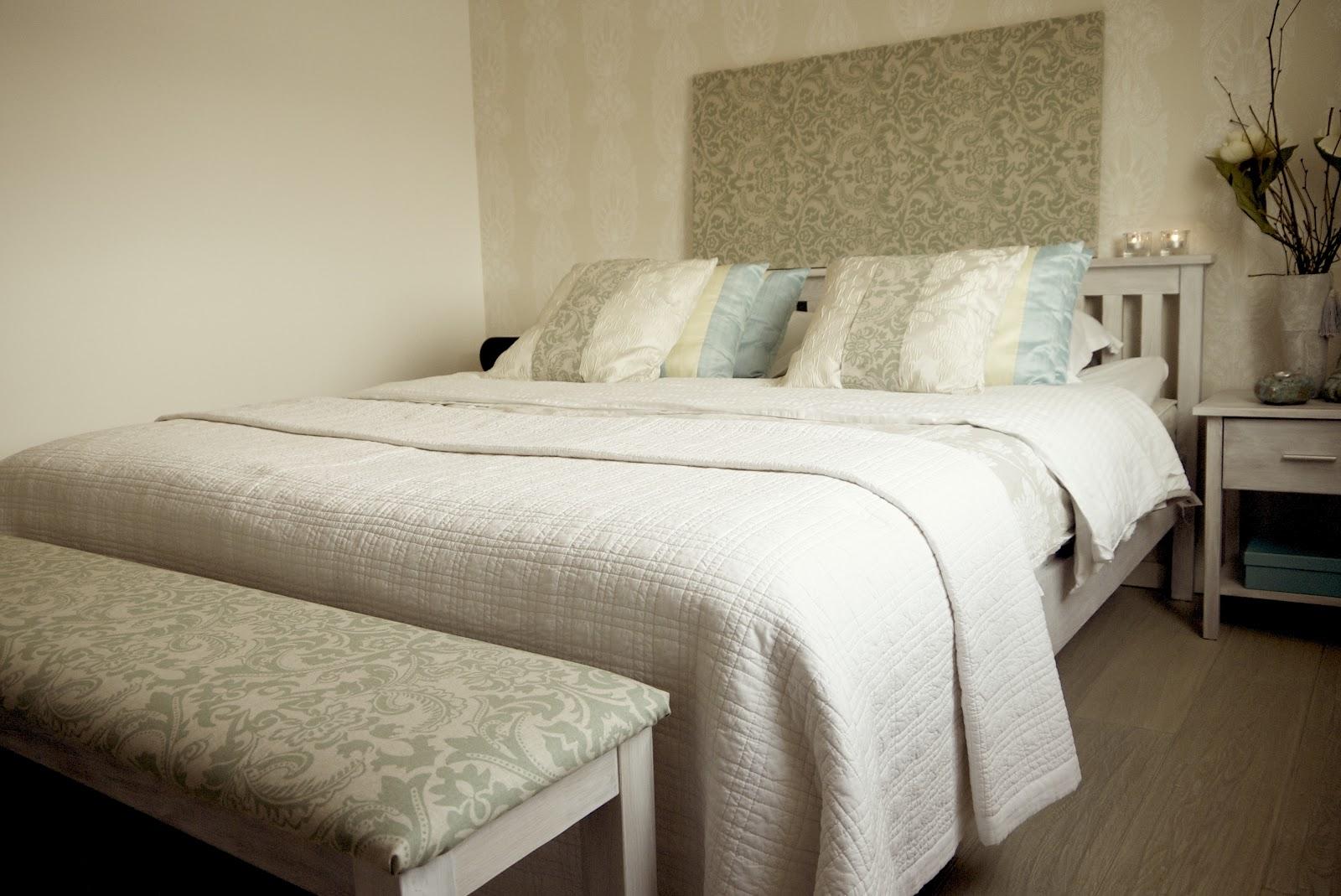 Lannas68kvm: sovrummet, skapa din hotell känsla!