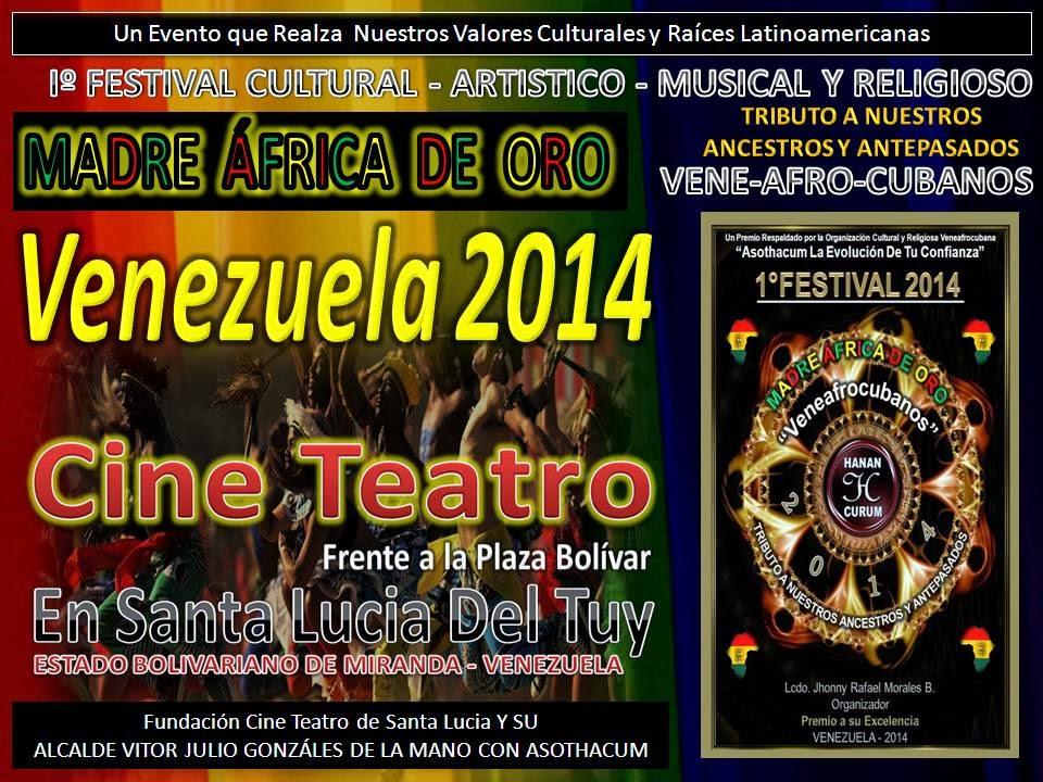 FESTIVAL MADRE ÁFRICA DE ORO (VENEZUELA)