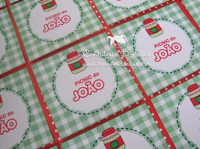 adesivos personalizados picnic