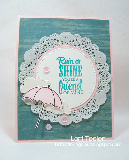 Rain or Shine-designed by Lori Tecler-Inking Aloud-stamps from Verve Stamps