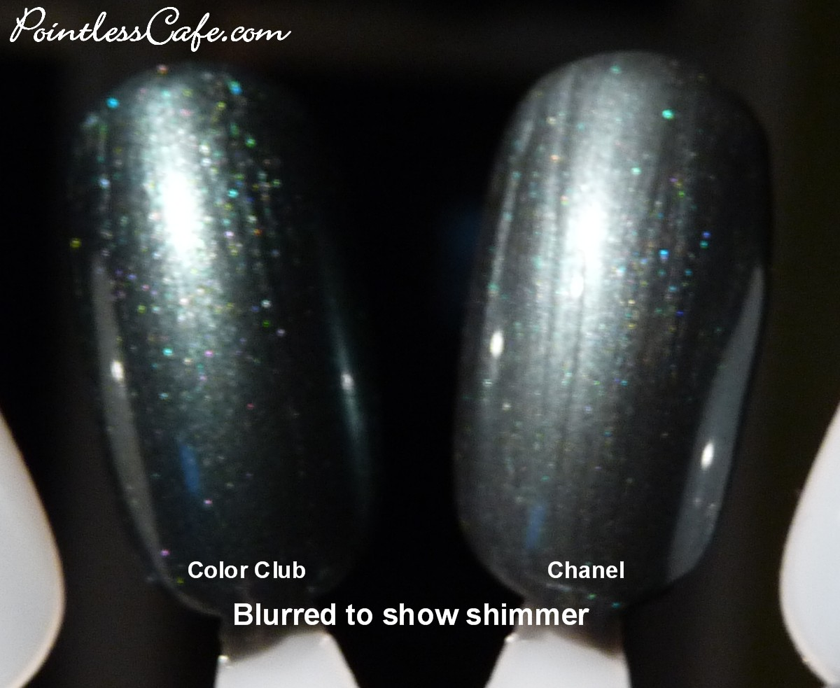 Chanel Black Pearl vs Color Club Voodoo You Do - Pic Heavy ...