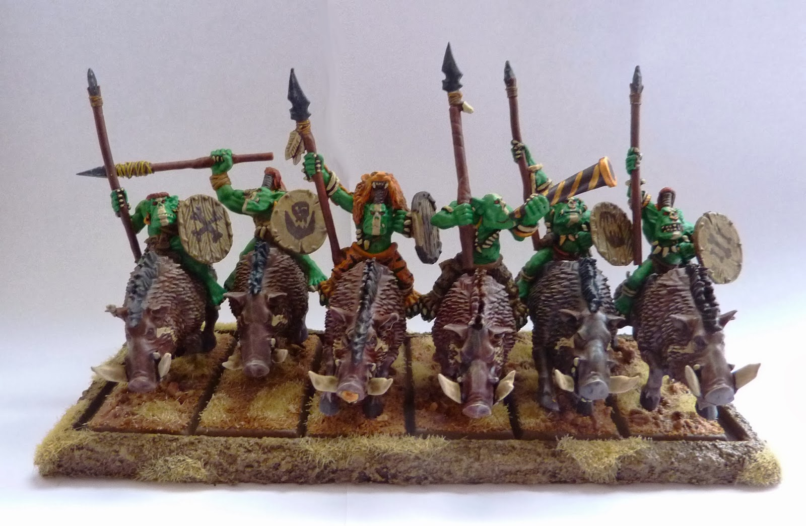 Savage Orc Boar Boyz
