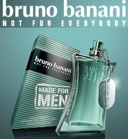 Amostra Gratis Perfume Bruno Banani Made for Men