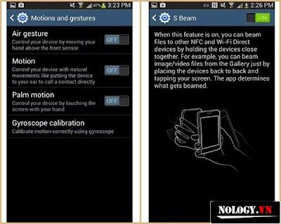 Tắt các tính năng không cần thiết của Samsung Galaxy S4