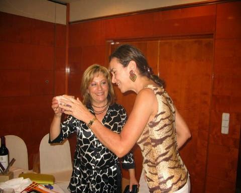Con Carmen Posadas