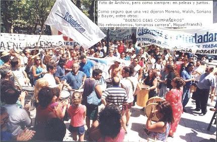 """Que nadie escupa sangre pa' que otro viva mejor"". (Don Atahualpa)"