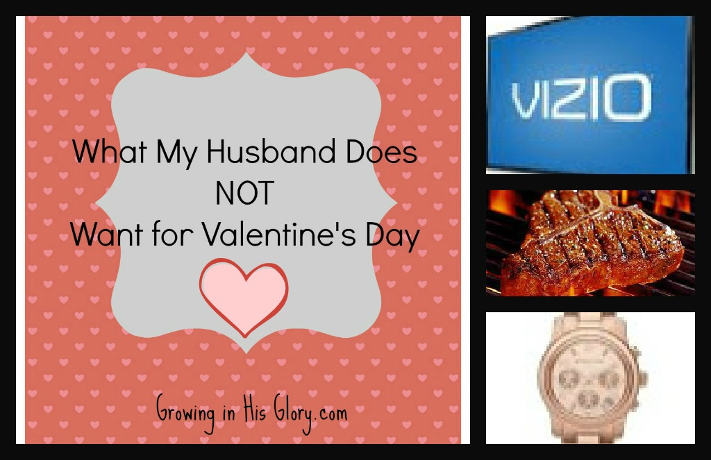 what my husband does not want for valentines day