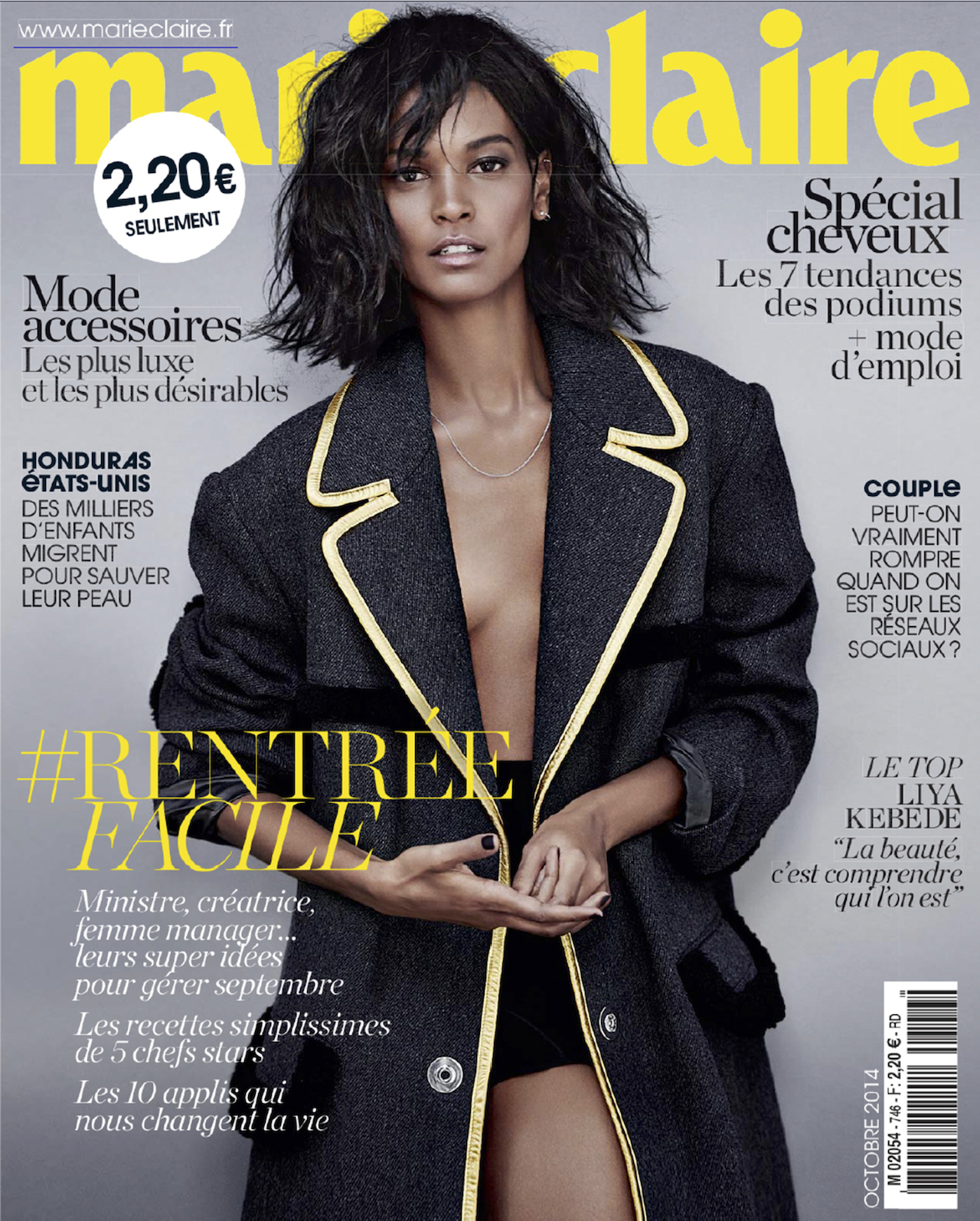 super mod le liya kebede by tiziano magni for marie claire france october 2014 visual. Black Bedroom Furniture Sets. Home Design Ideas