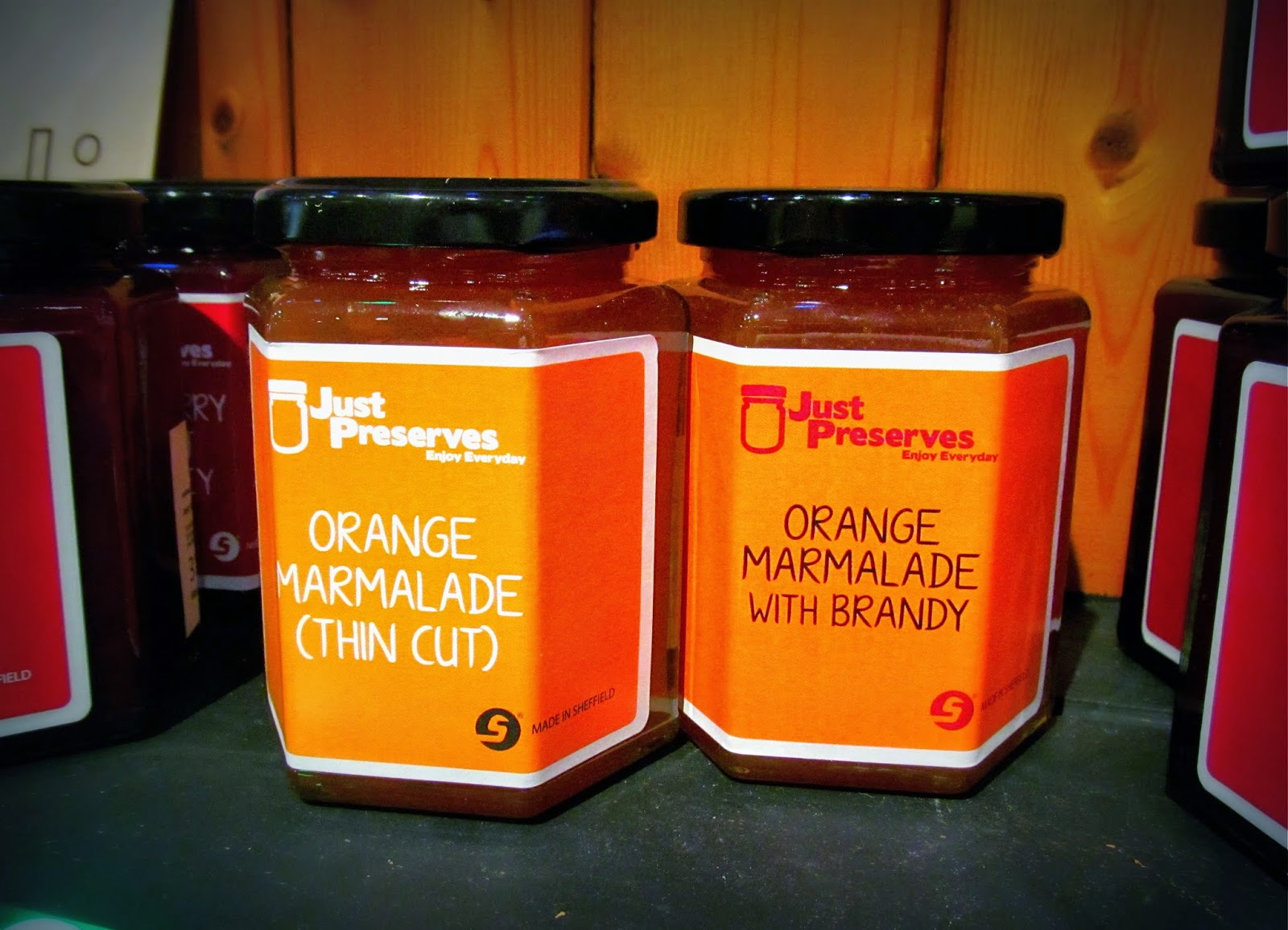 Just Preserves marmalade Bird's Yard Sheffield