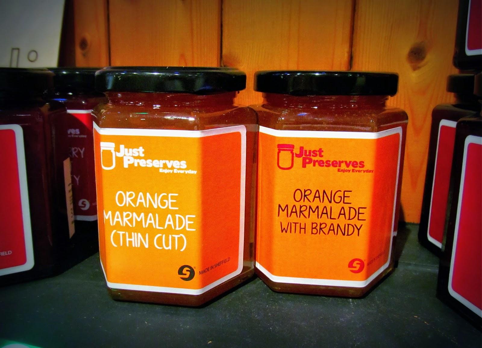 Just Preserves marmalade Bird's Yard Sheffield