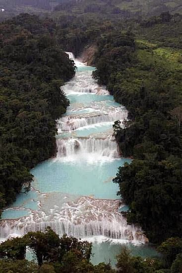 PALENQUE WATERFALLS, MEXICO