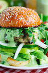 Green Goddess Zucchini Turkey Burger