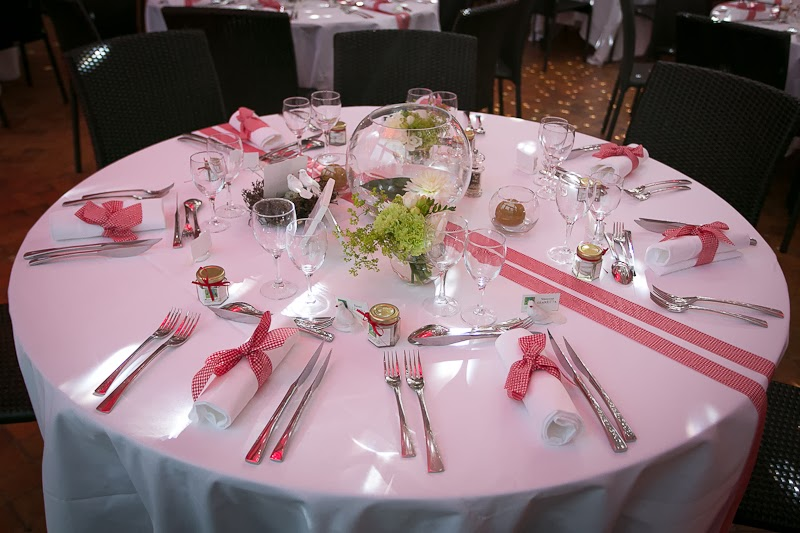 Le secret des receptions d coration de mariage th me for Decoration mariage table