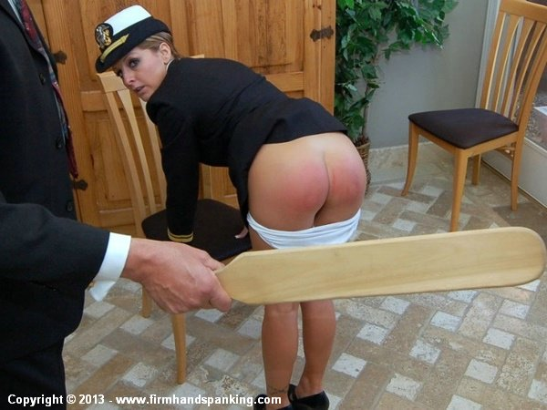 Real spank paddle cry