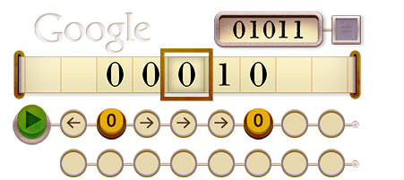 Doodle Google - Turing
