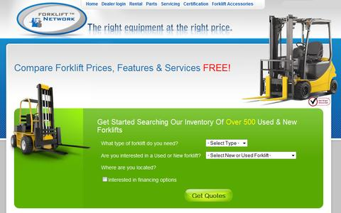 Used Forklifts in Dallas