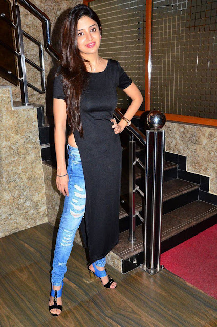 Poonam Kaur Latest Stills At Acharam Movie Interview