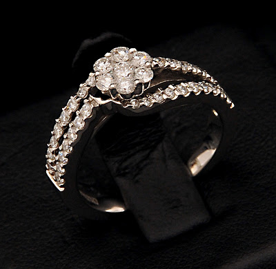 VBJ Diamond Platinum Ring Models