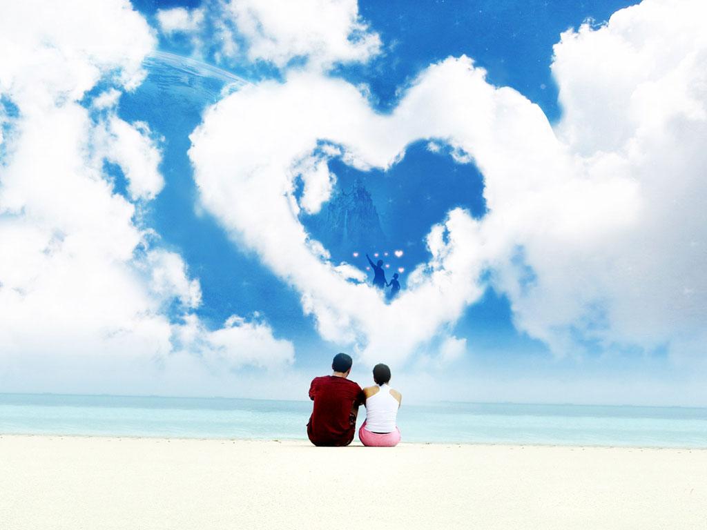 pensamentos de amor