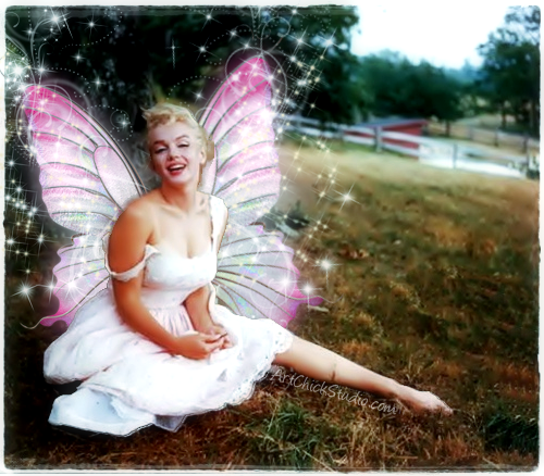 Marilyn Monroe Fairy Digital Art