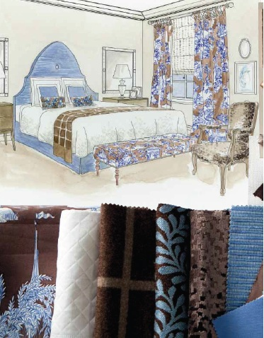 Decorating with toile Home Decorating Ideas
