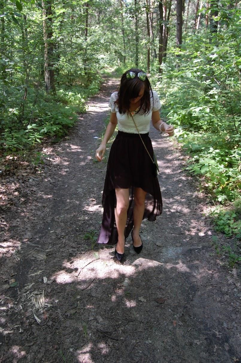 `asymmetric skirt i kilka prywatnych przemyśleń